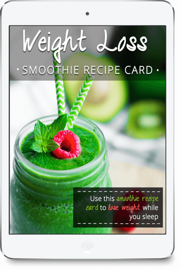 FREE Weight Loss Recipe Card - Green Thickies: Filling ...