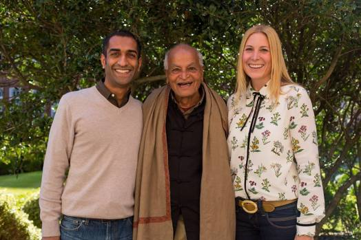 Satish Kumar. Photography by Plant Consciousness