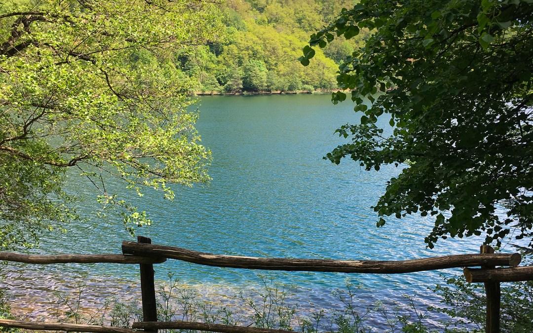 Passeggiata attorno al lago di Levico