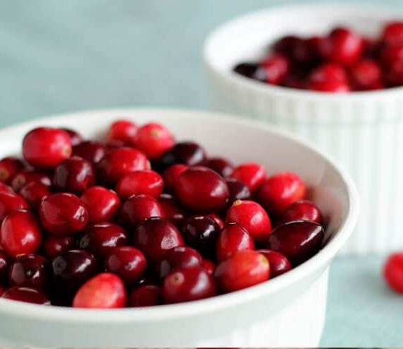 Cranberries whole