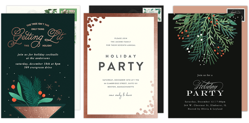 planning a last minute holiday party