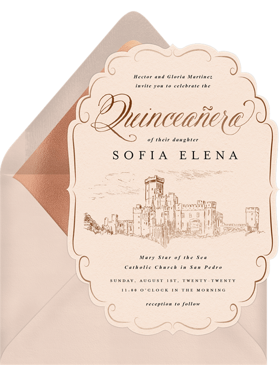 invitations to celebrate her birthday