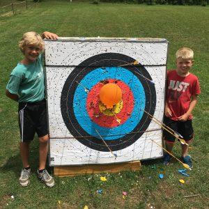 Summer Camp - Archery Target Practice