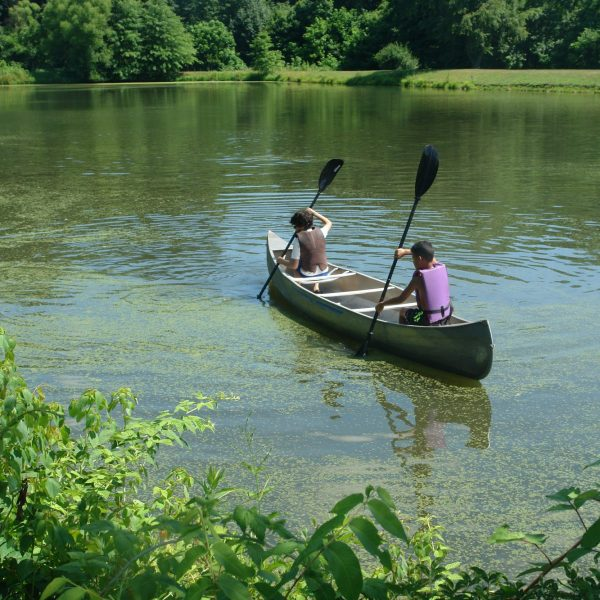 Canoeing at Greenview Bible Camp