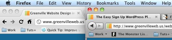 Screenshot FF4 Chrome