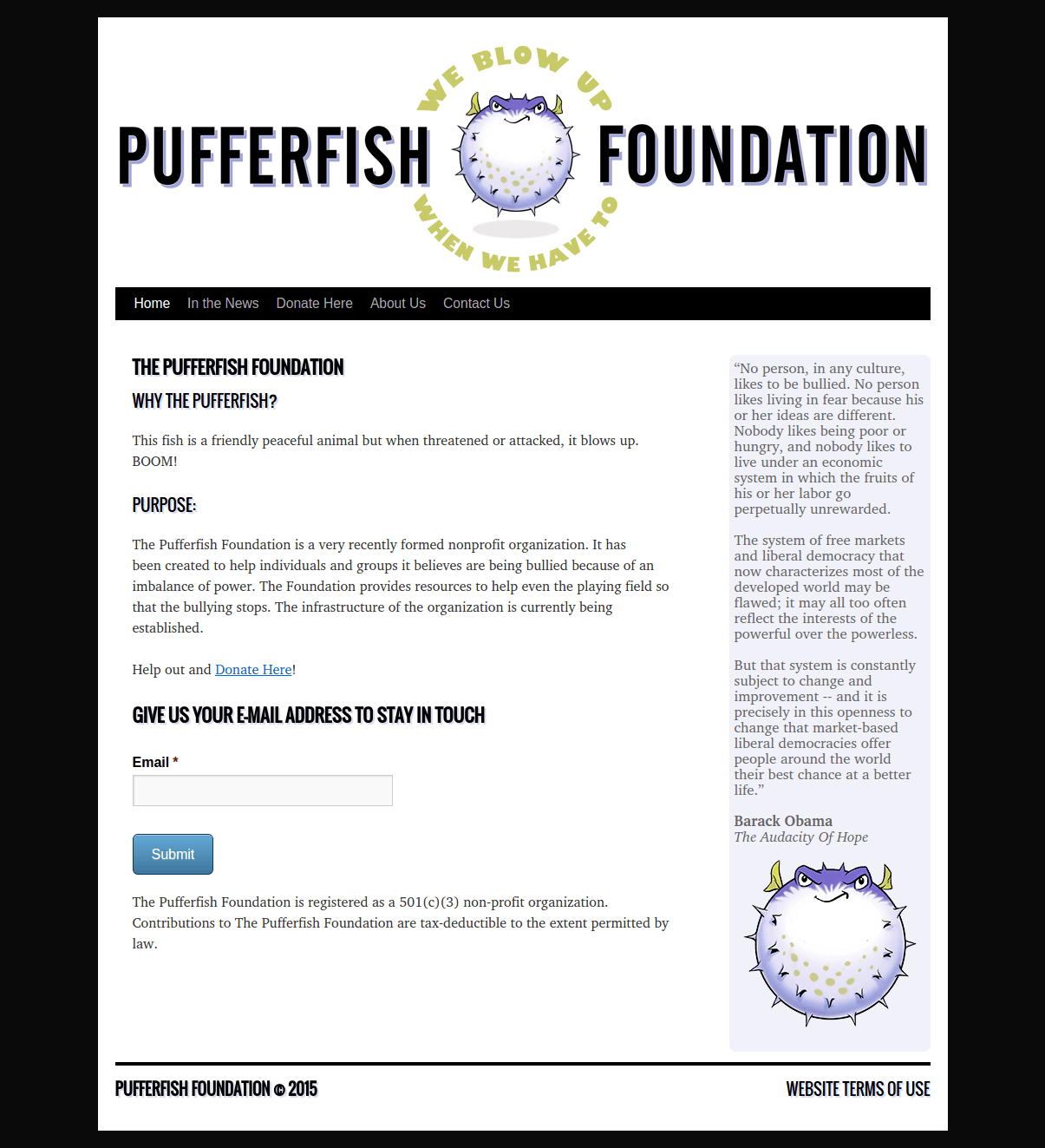 Puffer Fish Foundation