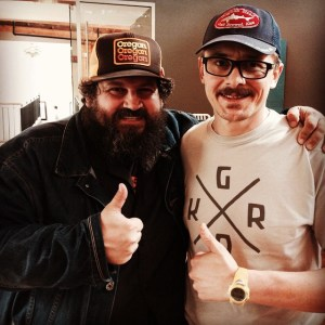 Left: Aaron Draplin Right: Rew