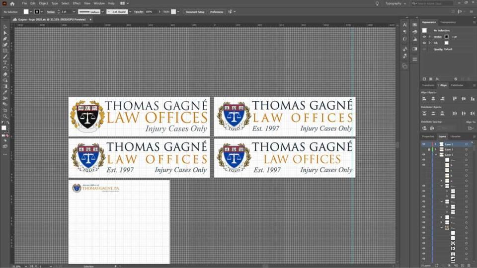 Thomas Gagné Logos