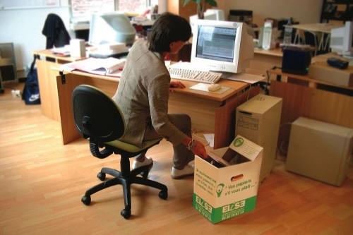 recyclage papier bureau