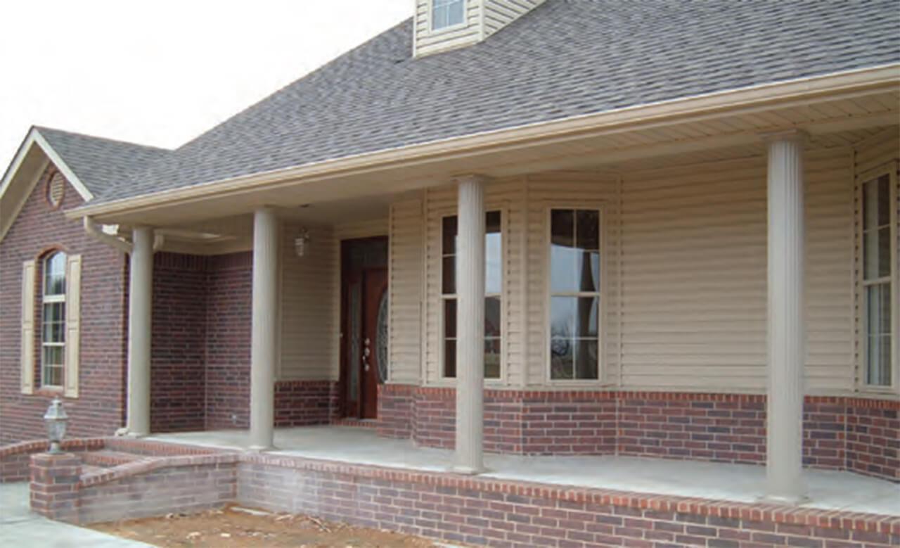 Exterior Structural Columns