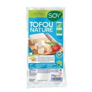 Alimentation vegan : tofu nature, Soy