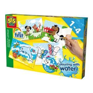 Jeux d'apprentissage : Kit coloriage à l'eau My First