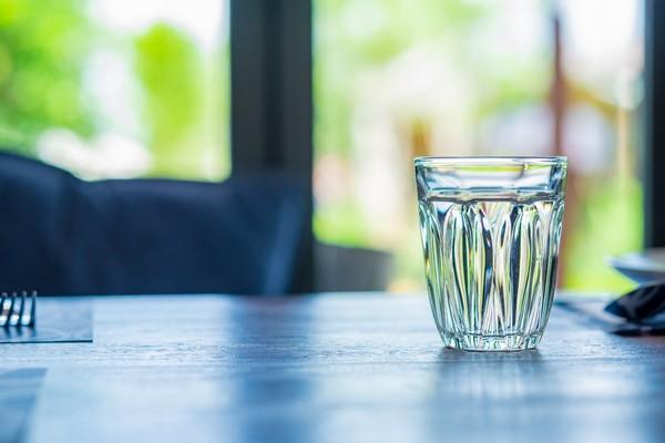 verre eau du robinet