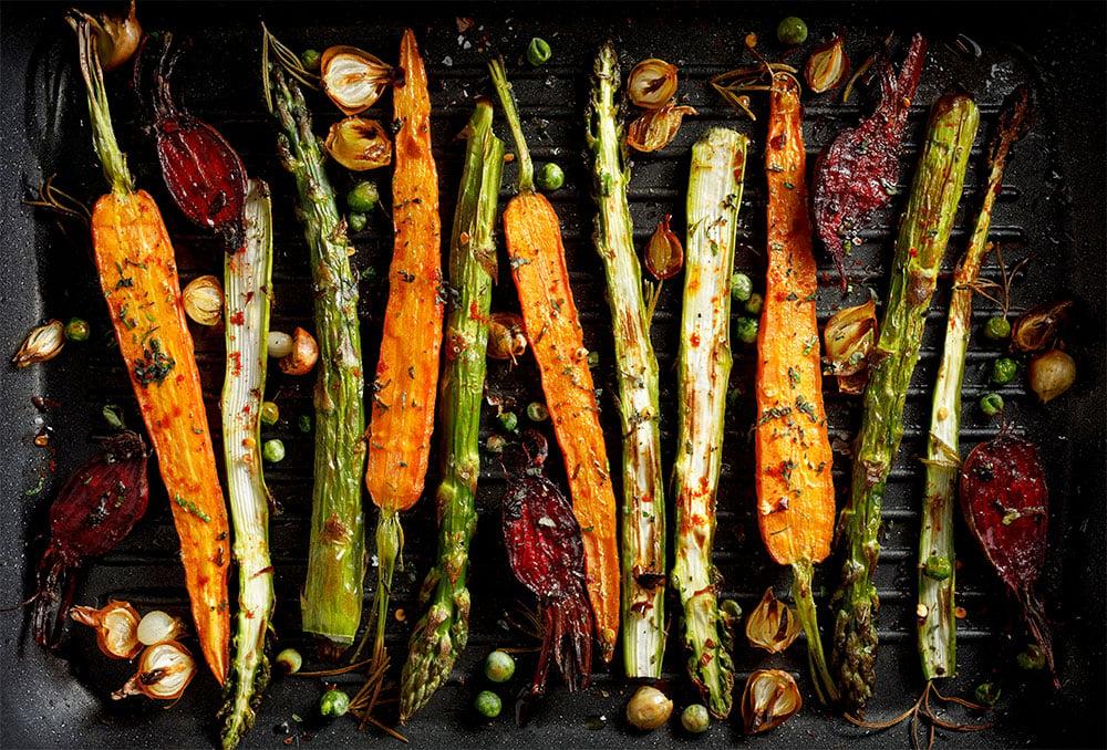 légumes à la plancha