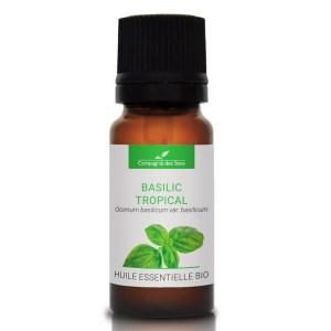 Trousse de secours aromatique : huile essentielle de Basilic, La Compagnie des Sens