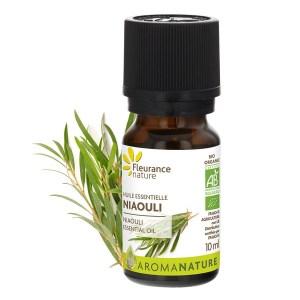 Trousse de secours aromatique : huile essentielle de Niaouli, Fleurance Nature