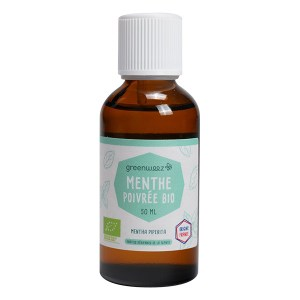 Trousse de secours aromatique : Huile essentielle de menthe poivrée, Greenweez
