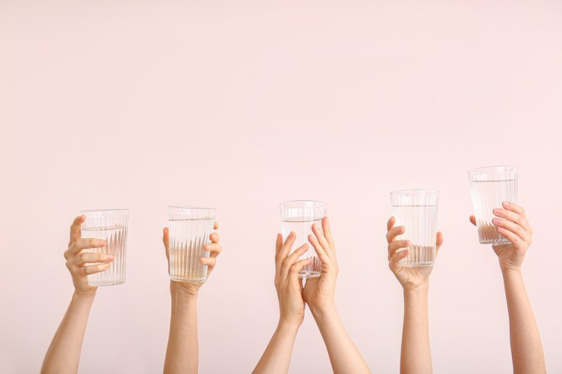 boire de l'eau pour prendre soin de ses reins