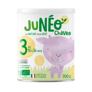 Lait infantile au lait de chèvre Junéo