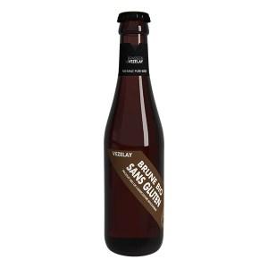 Bière de Vézelay brune sans gluten, Brasserie de Vézelay