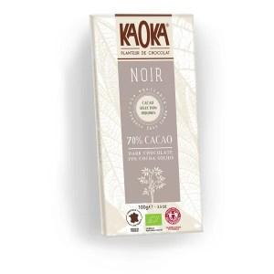 Chocolat noir 70%, Kaoka