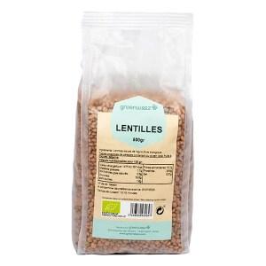 Lentilles vertes, Greenweez