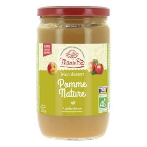 Purée de pommes nature France, Mamie Bio