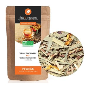 Tisane gingembre, Thés & Traditions