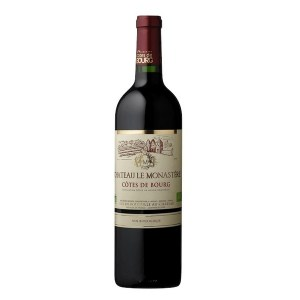 Vin bio Côtes de Bourg, Château Le Monastère