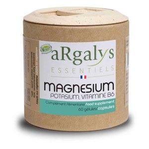 Magnésium potassium vitamine B6, Argalys Essentiels