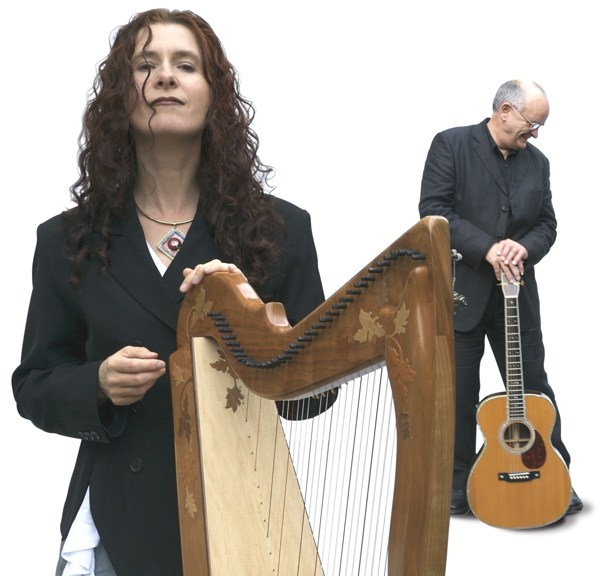 Máire Ní Chathasaigh and Chris Newman