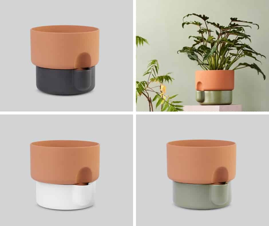 Oasis self-watering container by Northern
