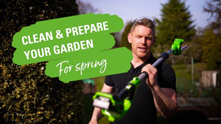 Learn about spring cleaning in garden.