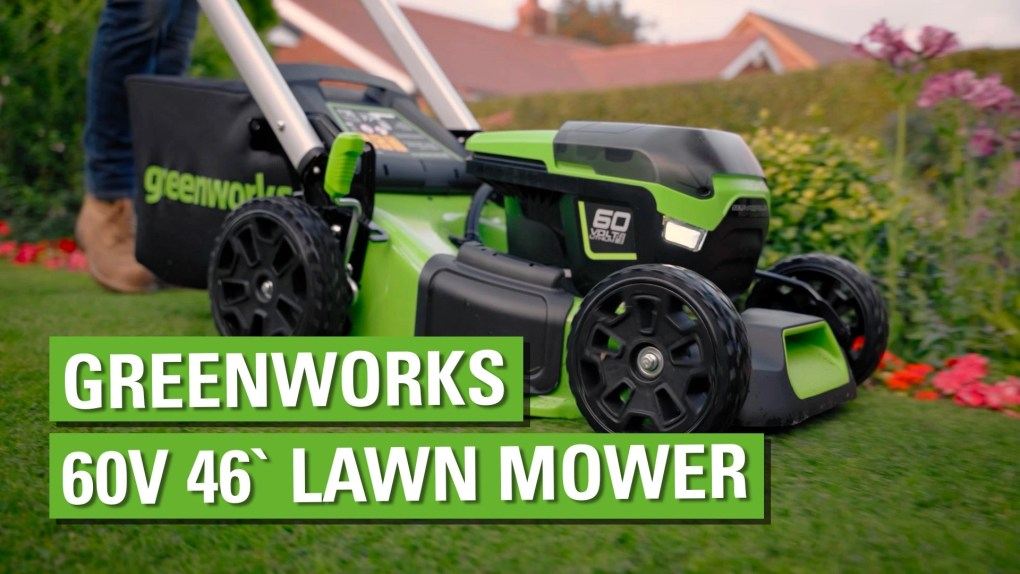 , Greenworks 60V Lawn Mower, Greenworks Tools, Greenworks Tools