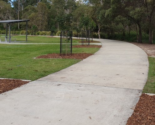 tree planting programs for parks and landscape for Logan Council by Green Works Tree Care