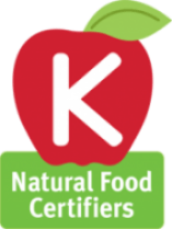 "The Natural Food Certifiers  ""Apple K"" Kosher Certification"