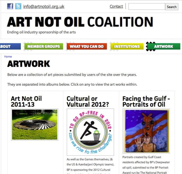 Art Not Oil