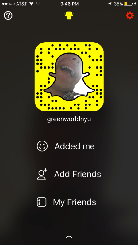 Add me @greenworldnyu to follow my adventures around NYU green life