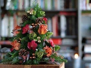 Romeo's Red Christmas Tree