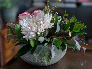 Eenvoudig bloemstuk