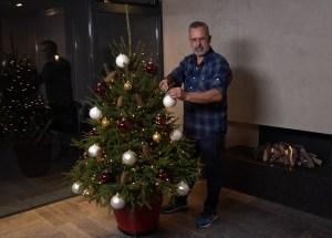 Kerstboom voor binnen én buiten