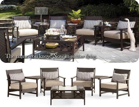 retreat 7 piece seating set