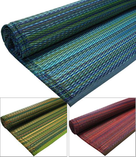 melange recycled floor mat by koko company