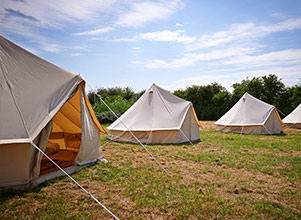 yurt hire uk - retreats
