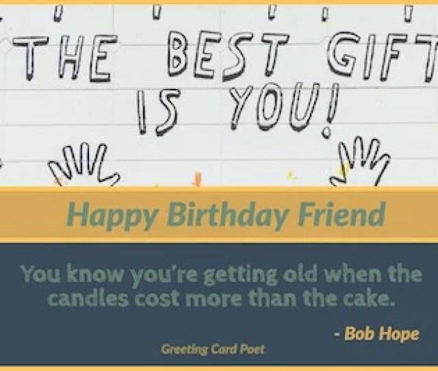 Bob Hope Birthday Quote Image