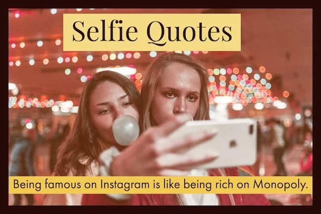 Selfie Quotes And Captions For Social Media Greeting Card Poet