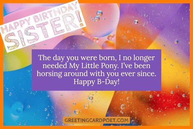 Happy Birthday Sister Wishes Just Got Easier With These Greeting Ideas