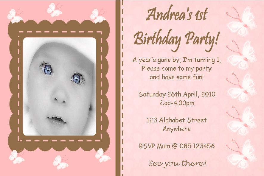 personalised birthday invites | Invitationjdi.co