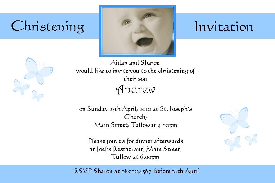 Print Your Own Party Invitations