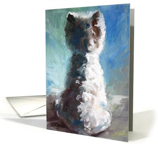 Sympathy Loss Of Dog West Highland White Shadows